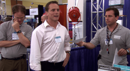 Charles Esten talks 'The Office' and what it was like playing Josh Porter
