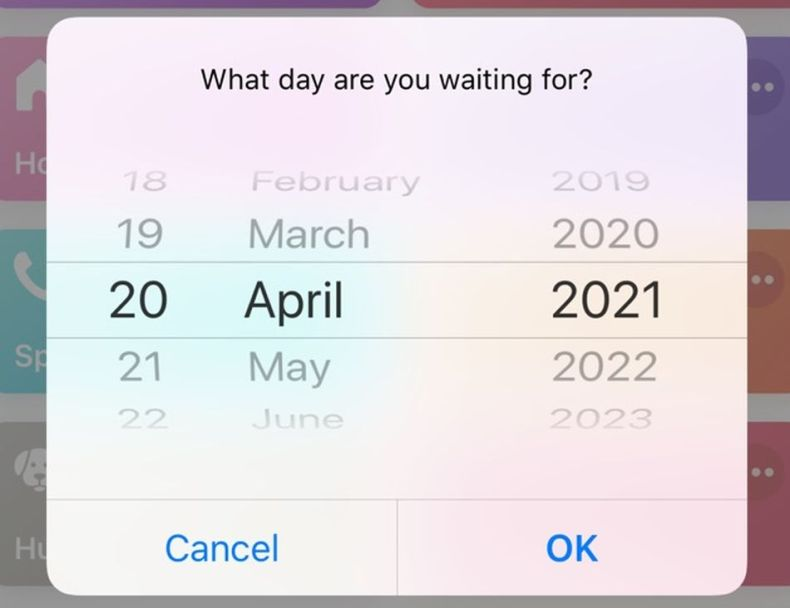 An iPhone shortcut especially helpful for impatient people.