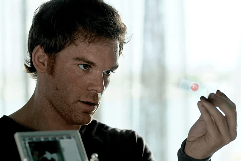 The titular Dexter just really has a thing for blood.