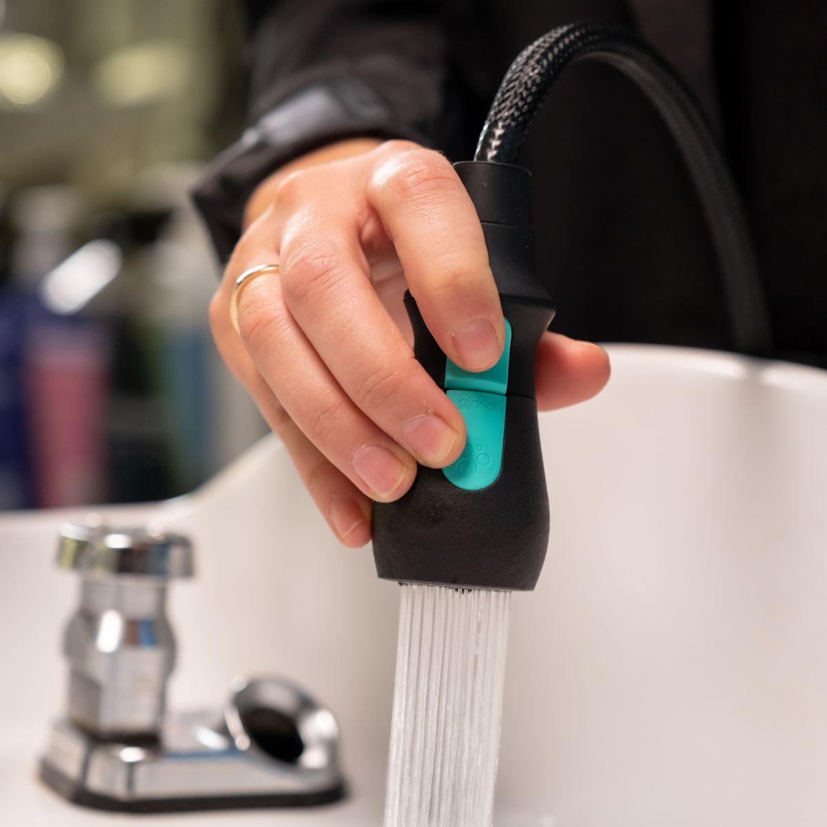 Saving water, one salon visit at a time.