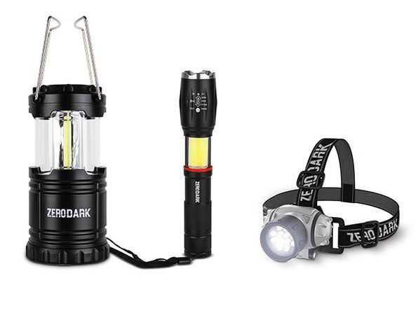 Stay prepared with 15 headlamps and flashlights on sale