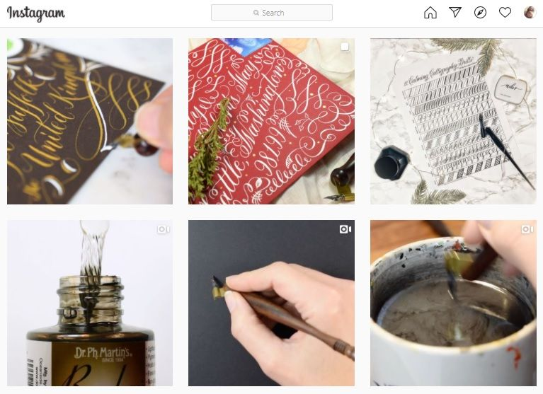 How to learn calligraphy online