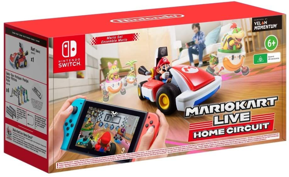 Turn your home into a race track with 'Mario Kart Live: Home Circuit'