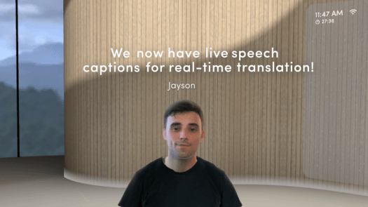 The Live Translations auto-generates captions for over 30 different languages.
