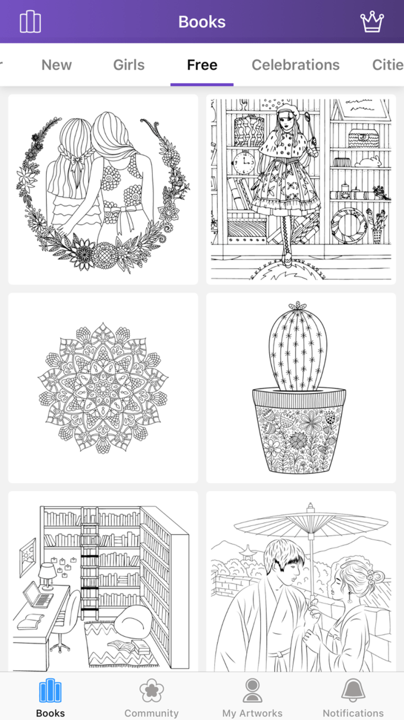 5 fantastic free coloring apps