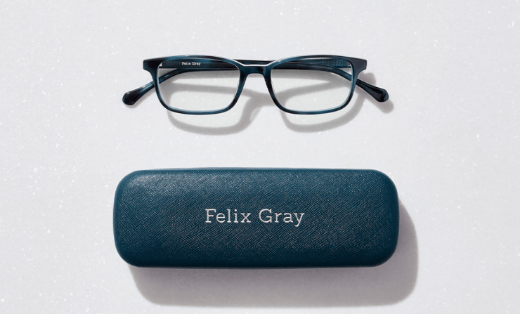 Looking at screens all day? Save 15% on blue light glasses during Felix Gray's annual sitewide sale.