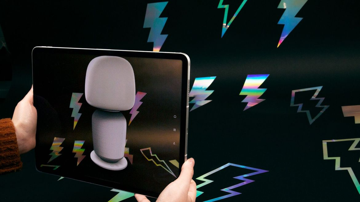 A LiDAR scanner for augmented reality apps
