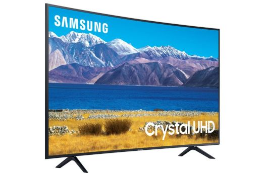 This curved Samsung 4K smart TV is on sale for over $100 off