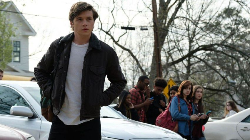 "Nick Robinson plays in ""Love, Simon""."