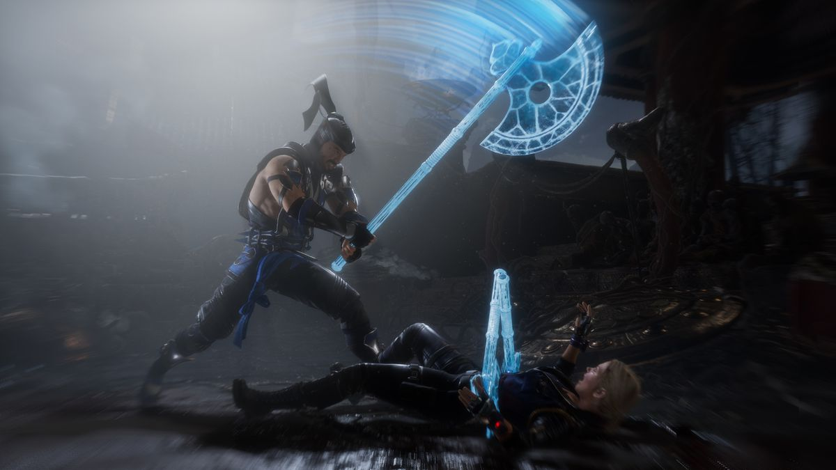 Only Mortal Kombat can make such gross shit look so beautiful