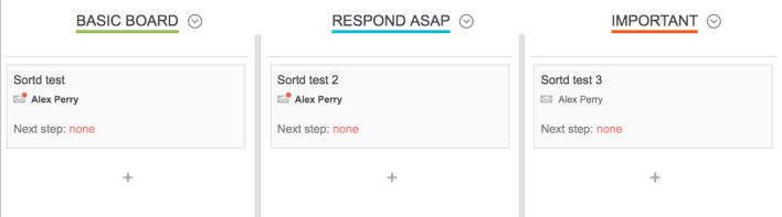 Sortd يجعل من السهل تنظيم رسائل البريد الإلكتروني إلى فئات مختلفة