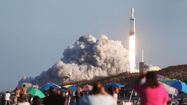 The launch and landing of SpaceX on Thursday was truly fascinating.