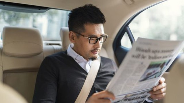 Read your paper (or phone) in peace.