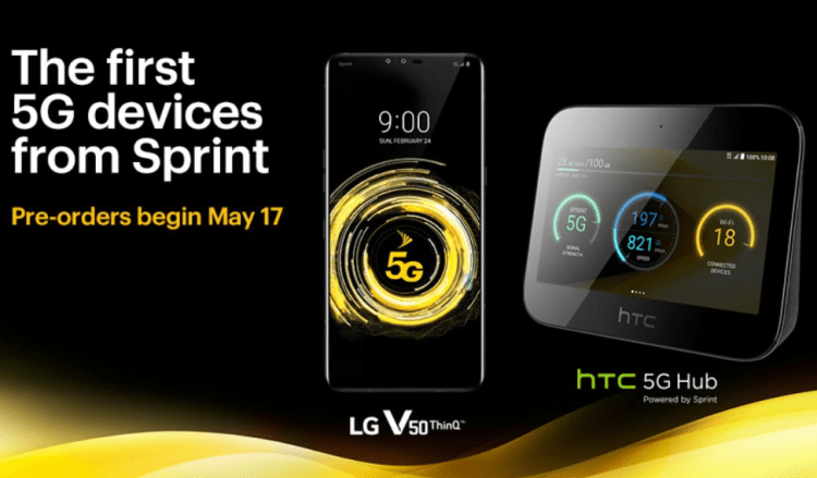 5G is coming to Sprint.
