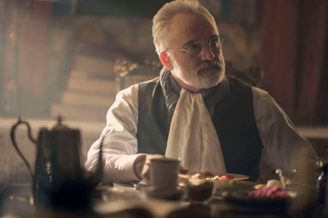 The last thing we need is to see this man stirring tea.