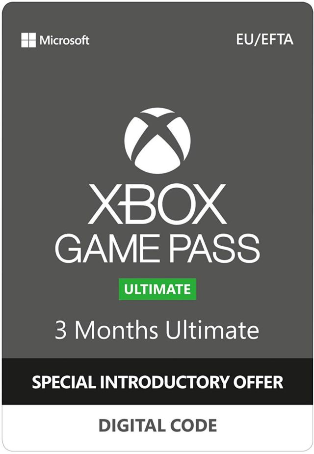 A 3-month Xbox Game Pass Ultimate membership is available for under £15 on Amazon