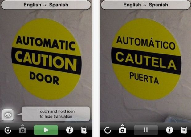 Augmented reality is a horrible term. It sounds so peculiar, so removed from everyday experience, that it actually has the effect of deadening any excitement about the concept before it can begin. But for a grade-A example of how amazing augmented reality can be, don't look any further than Word Lens. Launch the app, hold your iPhone in front of a sign in a foreign language, and watch the text on the sign instantaneously transmogrify into something comprehensible right before your eyes. There was no questioning the utility and simplicity of the app, and its brilliant parlor trick caught the attention of Google, who acquired the company and gave it a good home as a marquee feature in Google Translate.