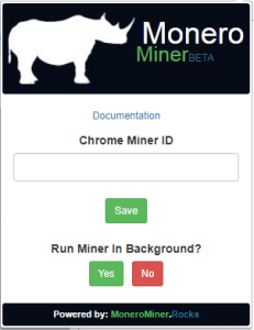 chrome monero miner