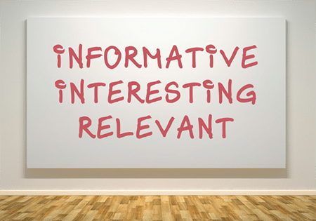 make informative posts