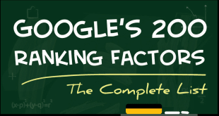 google 200 ranking factors