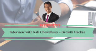 Interview with Rafi Chowdhury