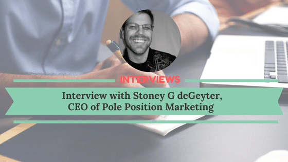 Interview with Stoney G deGeyter