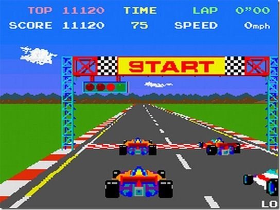 PolePosition Atari Video Game