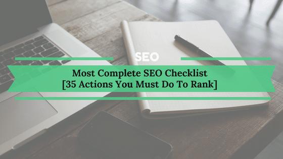 Complete SEO Checklist