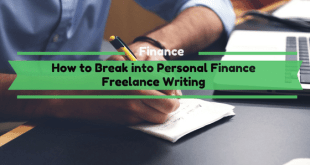 How to Break Into Personal Freelance Writing