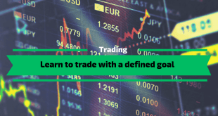 Learn to trade with a defined goal