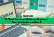 10 Most Common Webinar Mistakes. I bet you make #6