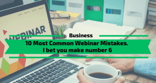 10 Most Common Webinar Mistakes