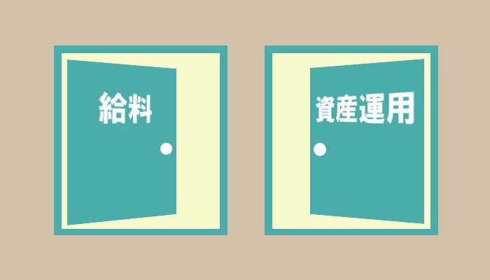 給料と資産運用の扉