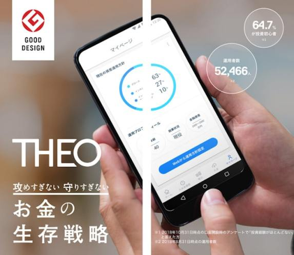 iOS・Android対応のTHEOスマホアプリ