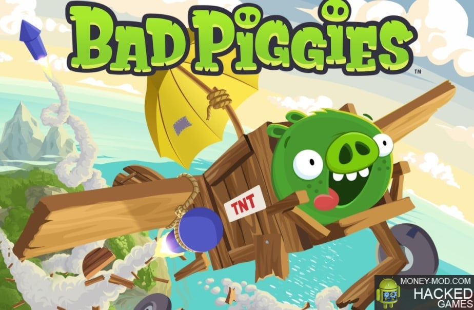 Bad Piggies HD (Mod unlocked and unlimited)