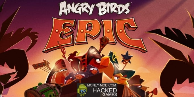 Angry Birds Epic (Mod Money)