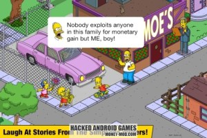 Hacked The Simpsons Tapped Out Mod (2)