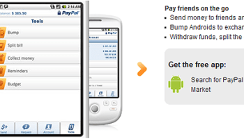 PayPal Update Android App