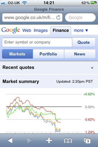 Google Finance Mobile 3