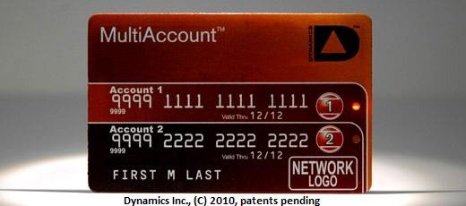 Dynamics MultiAccount Card