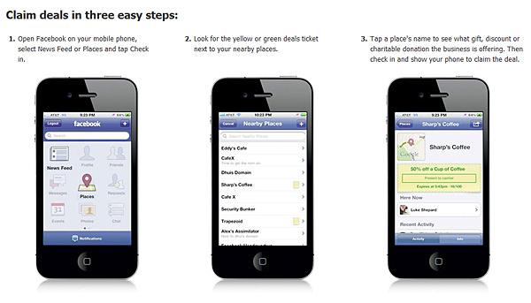 Facebook Deals 3 Steps