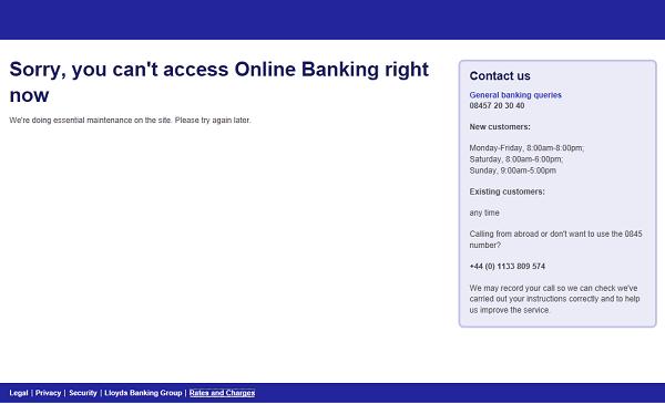 Halifax Online Banking Problem