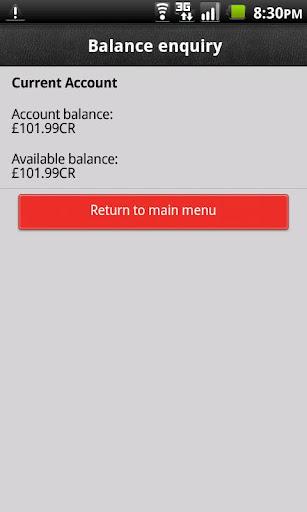 Fast Balance Android app