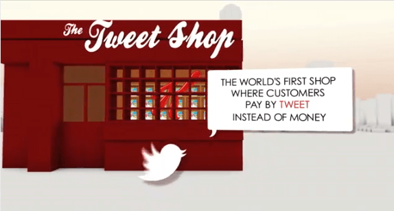 Kellogg's Tweet Shop