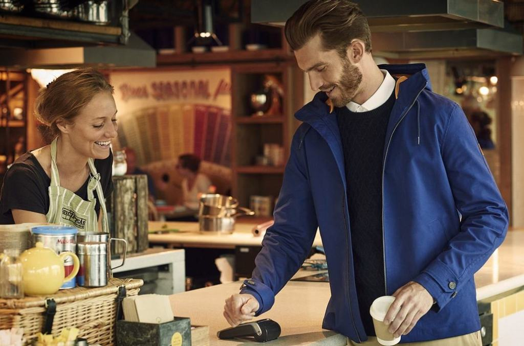 Contactless Payment Jacket