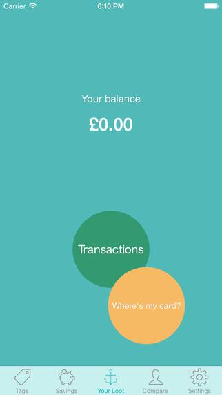 Loot student money management app screenshot