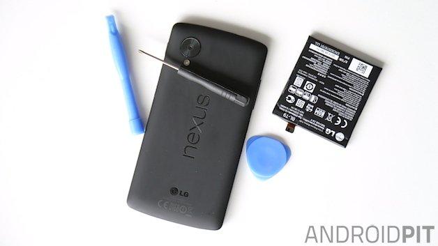 Как вручную заменить аккумулятор Nexus 5
