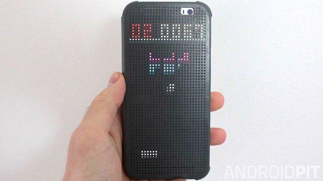 3 новых интересных вещи, которые вы можете сделать с чехлом HTC One M8 Dot View