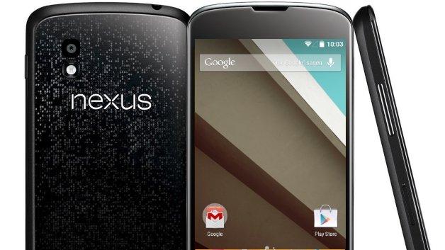 Как установить Android 5.0 Lollipop на Nexus 4