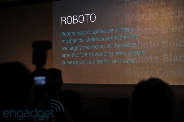 Как установить шрифт Roboto Ice Cream Sandwich на Android